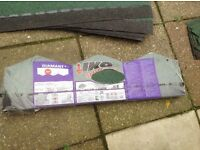 green felt roof shingles 27 pack cover 3m sq1 pack +8 new. 29 used (see nail holes) Ormesby