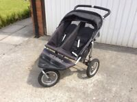 Double / twin pram stroller buggy - OutnAbout Nippa