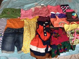 Girl's Summer clothes bundle - Age 3-4 years