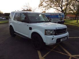 Land Rover discovery 3 facelift 4 white