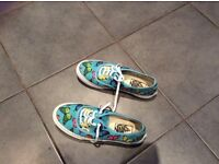 Ladies butterfly Vans, from USA. Genuine. Size 4.
