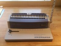 Fellowes plastic comb binder machine
