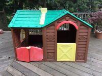 Kids garden playhouse