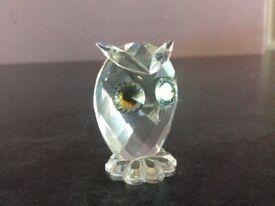 Swarovski crystal Small Owl