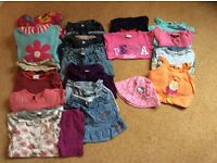 Bundles of girls clothes age 3-4 years