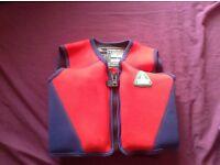 Swim jacket aged 6-7 years