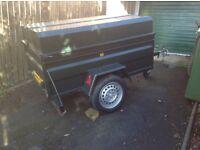 Heavy duty lidded trailer