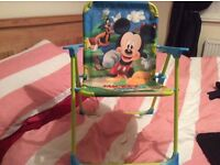 Mickey Mouse folding chair