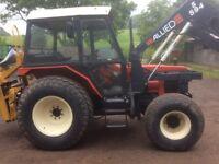Zetor 5245 loader/digger 07973117993