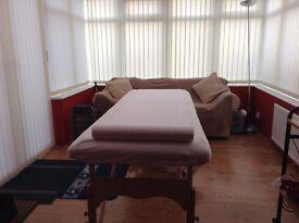 Massage by a male massage therapist Silloth cumbria