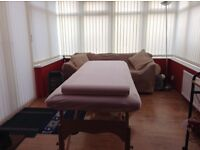 Massage by a male massage therapist Silloth cumbria