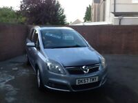 Vauxhall Zafira 1.9 CDTI Design , full service history, excellent original condition throughout