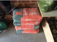 Free to collector 4 bags of cement