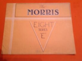The Morris Eight Car Sales Brochure . August 1945.