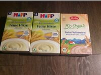 Free German baby cereals tea