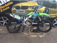 Kxf 250 2014 very clean fresh in !!!! Full exhaust system