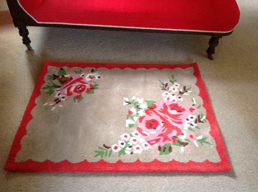 Floral Cath Kidston Rug In Timsbury Somerset Gumtree