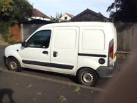 Renault kangoo 1.9d non runner new clutch new tyres rhino roof rack great for spares!!!