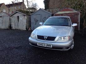 2003 Vauxhall Omega 2.2 Automatic Petrol 39000 miles
