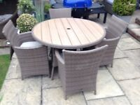 Rattan garden patio or conservatory furniture £250 tel 07966921804