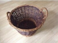 Nice wicker basket for collection only
