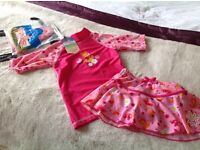 Childrens Swimwear Set 4-5 yrs ( brand new with tags)