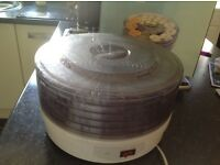 Nearly new food dehydrator five layers