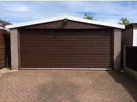 Roller Shutters * Made To Measure * Variety Of Colours * Electric Remote Comtrol * Garage Doors