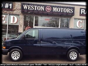 2014 Chevrolet Express 1500 *RARE *V6 *FULLY EQUIPPED *A/C *LIKE