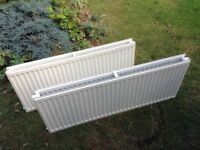 Two Double Radiators, used but in excellent condition