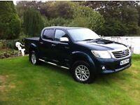 Toyota Hilux Invincible 3 litre automatic, 2013, 63000 miles, service history, NO VAT