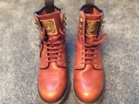Men's leather Caterpillar Boots