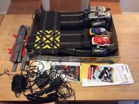 Scalextric track and cars set. Bash and Crash. 2003