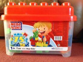 75 piece Mega Bloks Box Set