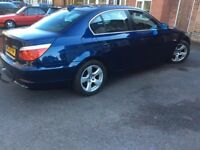 BMW 520D SE MODEL, 2008 , colour blue MOT until NOV 18