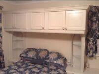 Bedroom wall units £25