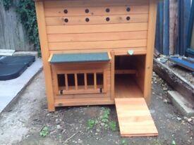 Brand new wooden chicken house / coop