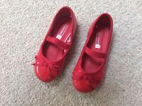 John Lewis child party shoes size 7
