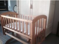 Rocking baby crib from John Lewis
