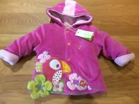 Baby girl coat size 3 months