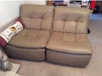 Multi-link sofa set (5 seats and foot stall) collection only