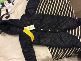 30% off Authentic original 3M baby designer Ralph Lauren blue pramsuit/coat rain proof good quality