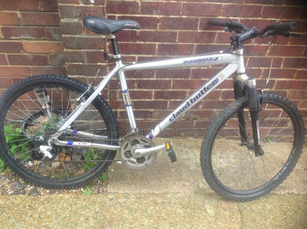 Adults Aluminium Claud Butler Mountain Bike 21 Speed