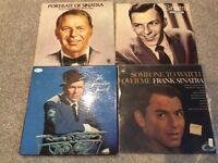 4 Frank Sinatra albums.