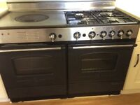 Rosieres Range Double Oven with hot plate - for sale.