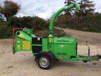 Greenmech arborist 150 woodchipper 2012