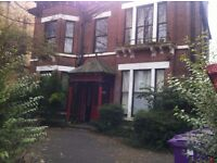 Large ground floor 1 bed s/c flat of character with GCH in quiet house near Sefton Park and Lark Ln.