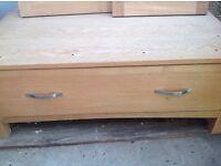 Solid Oak Wardrobe with drawer