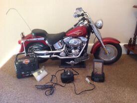 REMOTE CONTROL HARLEY DAVID-SON MOTORCYCLE (RARE)