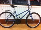 "Ladies Mountainbike - fully refurbished 15"" Raleigh Blueridge, baggage carrier, 26"" wheels, 15-speed"